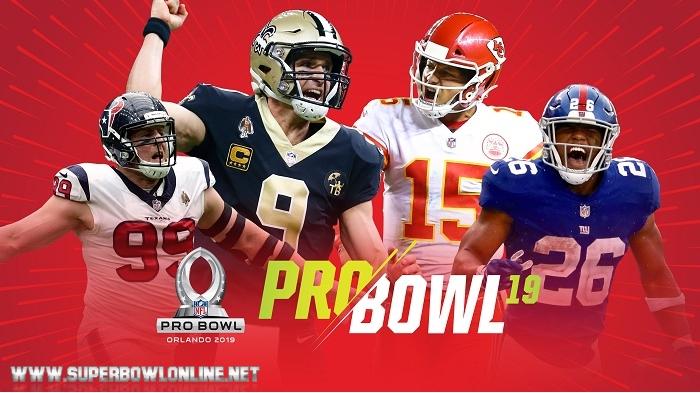 2019 NFL Pro Bowl In Orlando