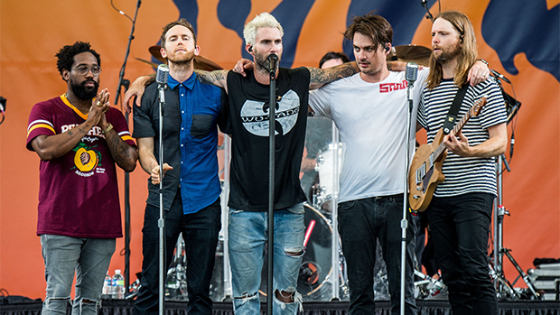 Maroon 5 in 2019 Super Bowl 53 halftime show