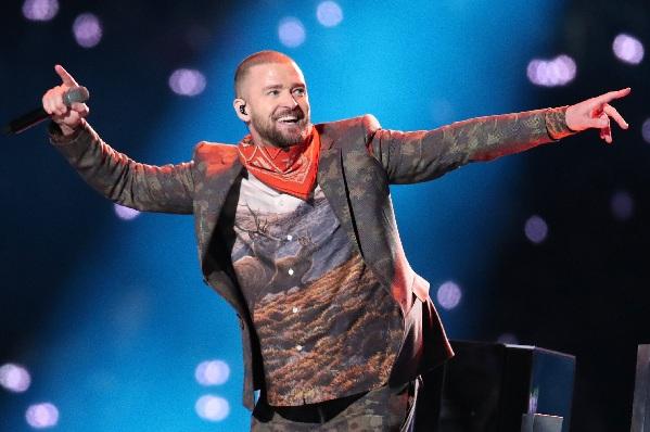 Justin Timberlake Super Bowl LII Halftime Show