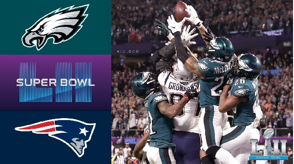 Patriots vs Eagles 2018 Super Bowl Highlights