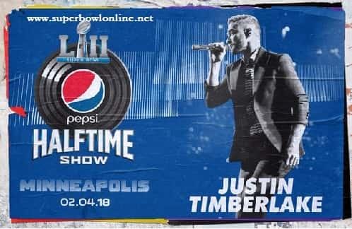 Super Bowl LII Halftime Show 2018 Live Stream