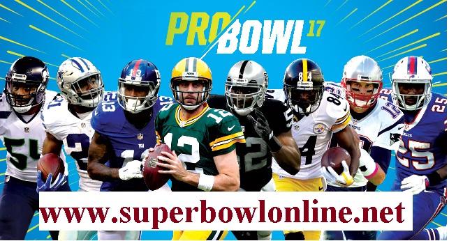 NFL Pro Bowl 2017 stream live