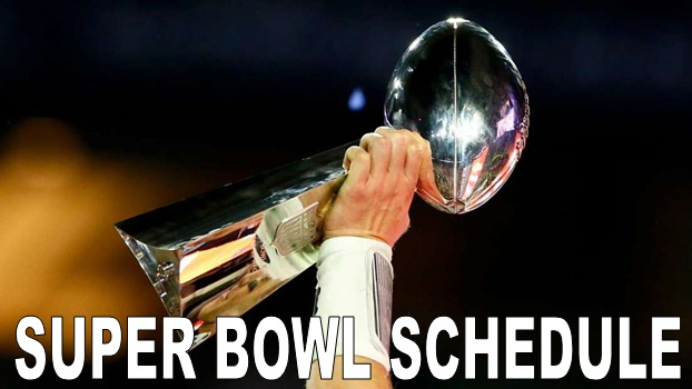 Super Bowl Schedule
