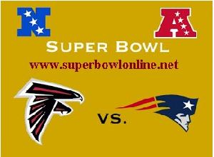 Atlanta Falcons vs New England Patriots Super Bowl 2017 Streaming Live