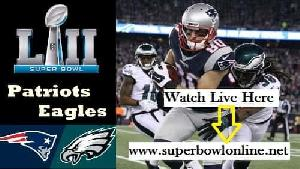 Live New England vs Philadelphia Super Bowl LII Online