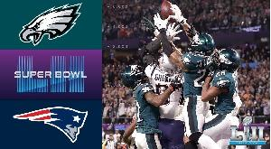Patriots vs Eagles 2018 Super Bowl Highlights